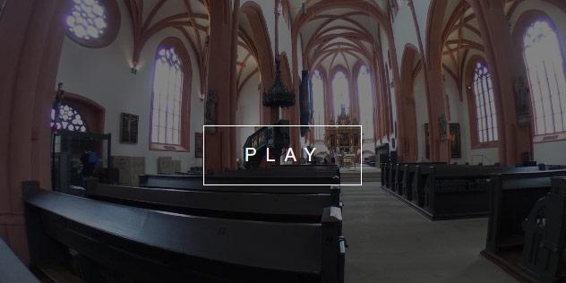 Vorschaubild Innenraum Stadtkirche Bayreuth