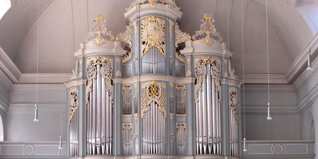 Die Wiegleb-Orgel in St. Gumbertus, Ansbach,© St. Gumbertus / Jim Albright