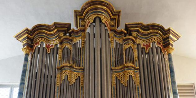 Orgel in der Heilig-Geist-Kirche in Dinkelsbühl,© Heilig-Geist-Kirche, Dinkelsbühl