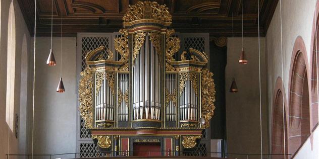 Orgel in der Stiftskirche, Feuchtwangen,© Stiftskirche Feuchtwangen