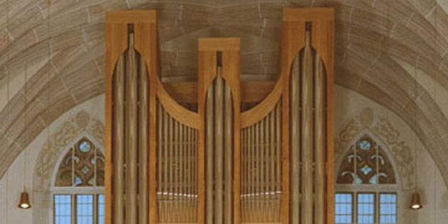 Orgel in der Stadtkirche St. Marien in Gunzenhausen,© Gunzenhausen - Stadtkirche St. Marien
