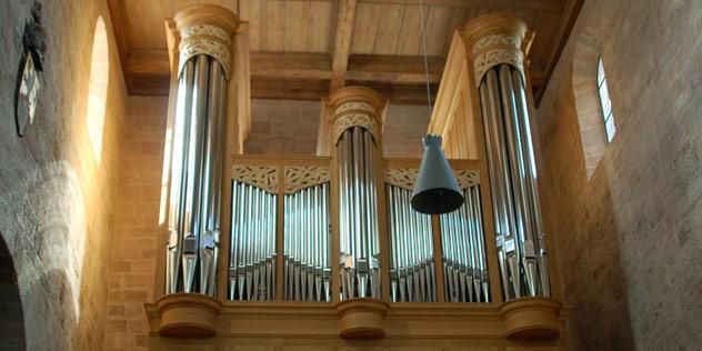 Orgel im Münster Heilsbronn,© Münster Heilsbronn