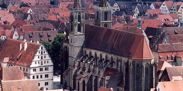 St. Jakob-Kirche in Rothenburg ob der Tauber
