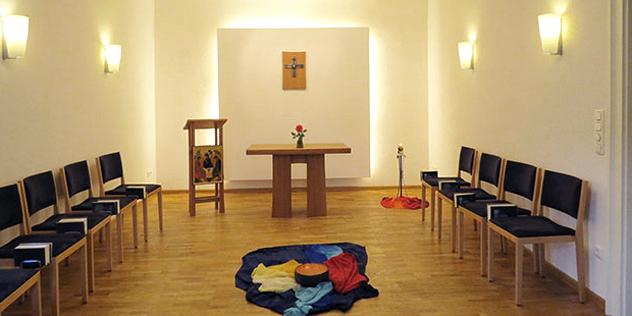Andachtsraum im St. Johannis Konvent in Eschenbach,© St, Johannis Konvent