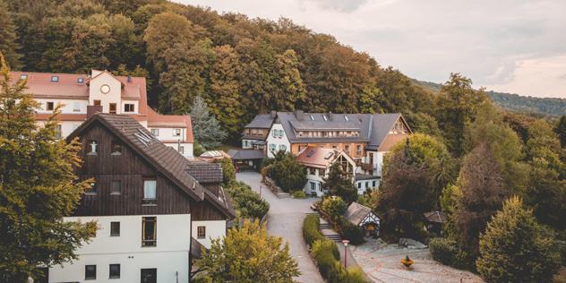 Hohe Rhön Alle Häuser,© Gästehaus Hohe Rhön